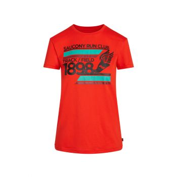 SAUCONY-RESTED SHORT SLEEVE Women