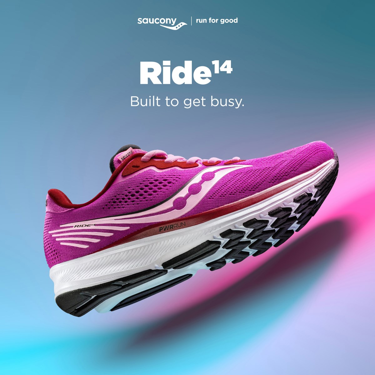 Saucony Ride 14 สีใหม่!!